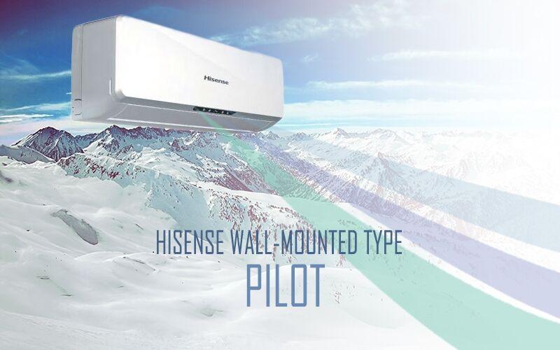 Hisense Pilot -  oldalfali inverteres klíma berendezés