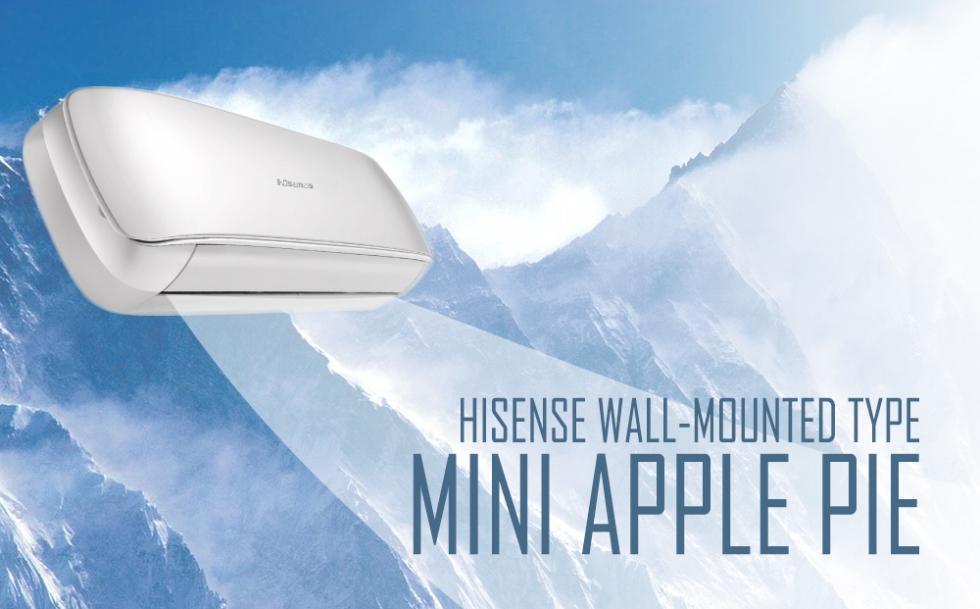 Hisense Mini Apple Pie oldalfali inverteres klíma berendezés
